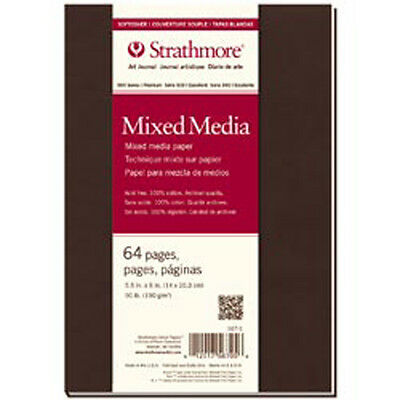 """32 Sheets - Strathmore Mixed Media Softcover Journal 5.5""""X8"""""""