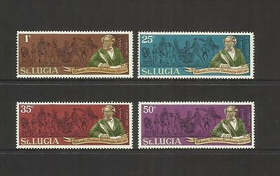 Saint Lucia ~ 1970 Charles Dickens Death Centenary  (Mint Mnh)