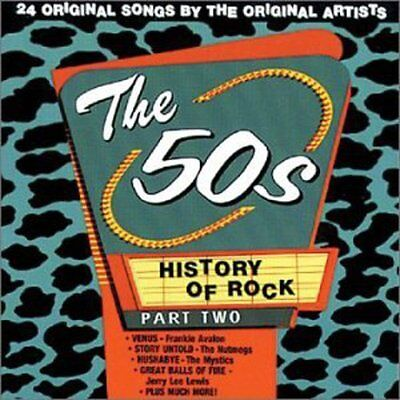 Various Artists - History of Rock 2: 50's / Various [New CD]