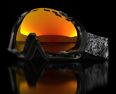 Out Of Edge Goggle Night Session Red Mci