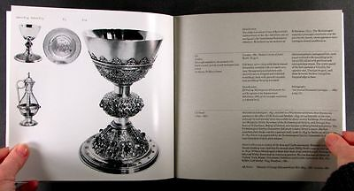 Antique English Victorian Revivalist Style Church Sterling Silver Exhibition