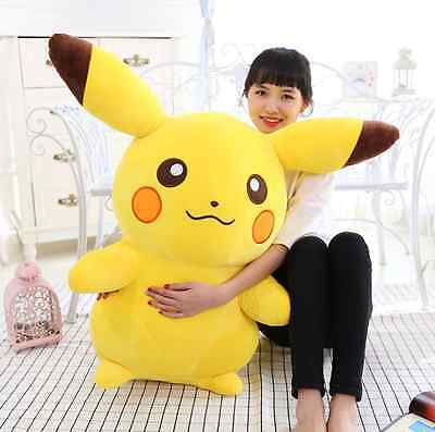 HOT Xmas Gift Japanese Anime POKEMON Pikachu Soft Plush Toy Kids Teddy Doll