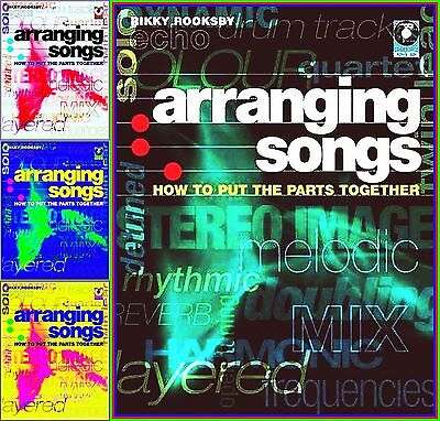 SONG ARRANGING PRAXIS A-Z ROOKSBY CD Workbook 194 PAGES GUITAR KEYB BASS & DRUMS