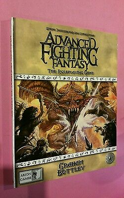 Core Book - Advanced Fighting Fantasy Roleplaying Game Rpg Aff Oop Arion Jackson