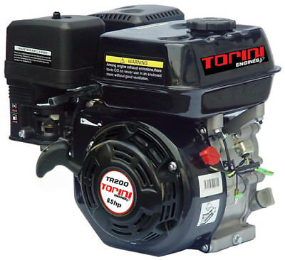 6.5Hp Torini Engine - Straight Key Shaft Tr200Q