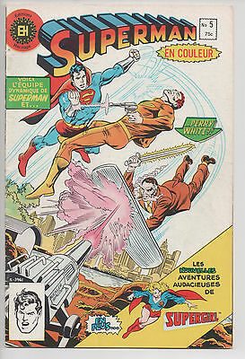 SUPERMAN #5 french comic français EDITIONS HERITAGE