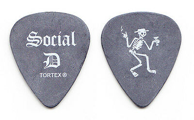 Social Distortion Mike Ness Gray Guitar Pick - 2015 Tour