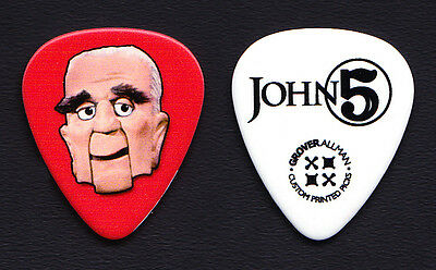 Rob Zombie John 5 Mad Monster Party The Baron Guitar Pick - 2015 Tour