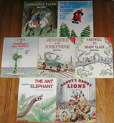 Bill Peet lot ~ Jennifer & Josephine ~ Farewell to Shady Glade ~ Cowardly Clyde