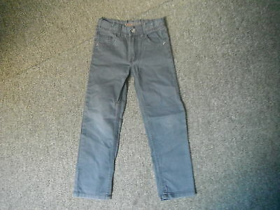 "Denim Co Slim Jeans Waist 22"" Leg 19"" Faded Black Boys 5/6 Yrs Jeans"