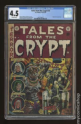 Tales from the Crypt (1950 E.C. Comics) #33 CGC 4.5 (1401359010)