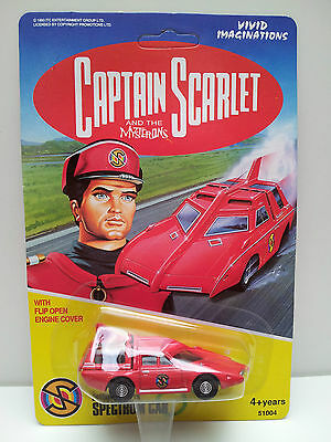 Captain Scarlet Spectrum Car Diecast Unpunched New Sealed & Carded  Dated 1993 B