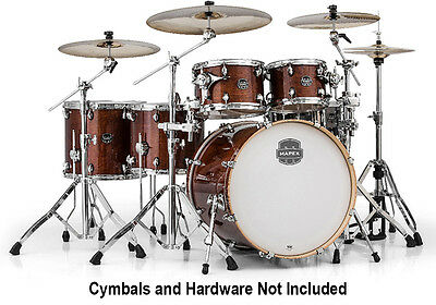Mapex Armory StudioEase 6-Piece Shell Pack, Transparent Walnut (NEW)
