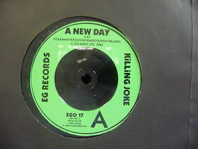 "Killing Joke "" A New Day "" Ex+ Cond."