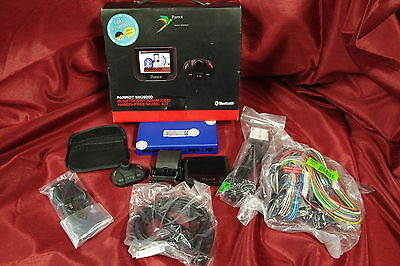 """Parrot MKi9200 Bluetooth Hands Free Color Car Cell Phone kit w/ 2.4"""" display #U2"""