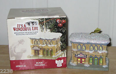 ORNAMENT: It's a Wonderful Life Bijou Theatre - Enesco NIB!