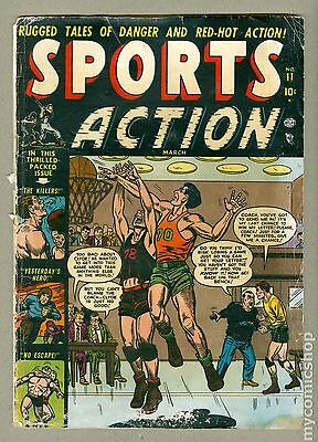 Sports Action (1950) #11 GD- 1.8 LOW GRADE