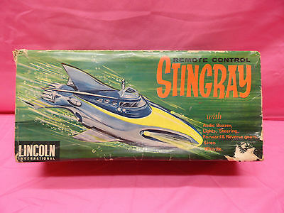 1964 Gerry Anderson's Stingray Remote Control In Box Lincoln International