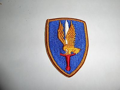 Military Patch Sew On Us Army 1St Aviation Brigade Older Colored
