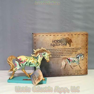 20350 HUMMINGBIRD GARDEN #17 Resin Arabian Horse of A Different Color Figurine