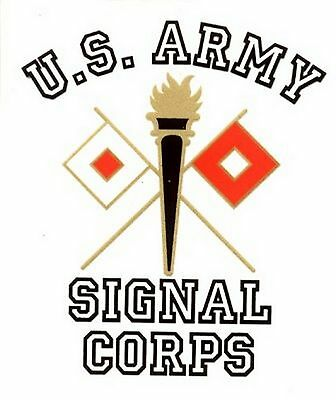 US Army Signal Corps  Decal Sticker