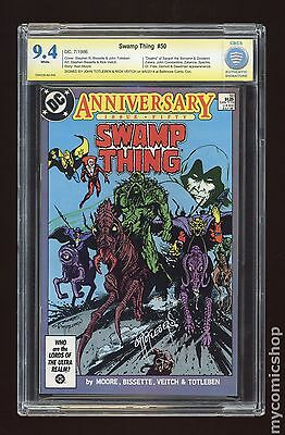Swamp Thing (1982 2nd Series) #50 CBCS 9.4 SS