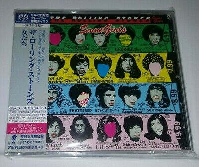 The Rolling Stones - Some Girls: Limited [New SACD] Shm CD, Japan - Import
