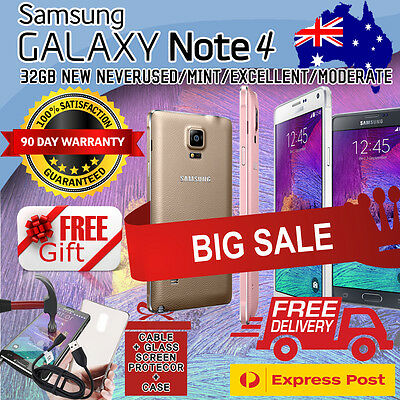 New & Used Samsung Galaxy Note 4 32Gb 64Gb 4G Lte Unlocked + Free Express