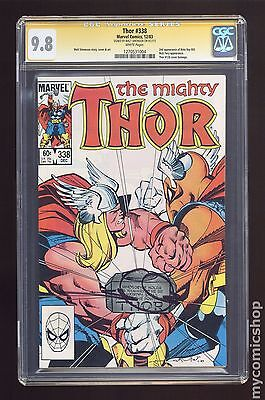 Thor (1962-1996 1st Series Journey Into Mystery) #338 CGC 9.8 SS (1270531004)
