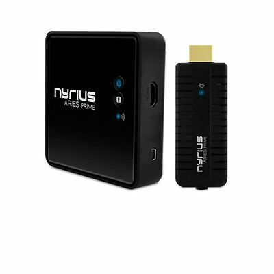 Nyrius ARIES Prime Digital Wireless HDMI Transmitter & Receiver System for HD 3D