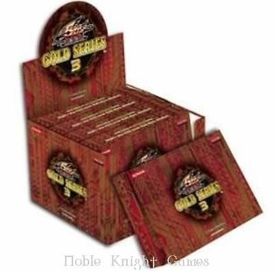 Konami YGO Deck Gold Series 3 Booster Pack Box CCG SW