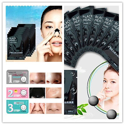 1/3/10X Facial Pore Cleanser Skin Cleaner Dirt Vacuum Acne Remover Mask Stickers