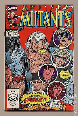New Mutants (1983 1st Series) #87 FN- 5.5