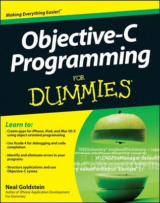 Objective-C Programming For Dummies (Paperback), Goldstein, Neal, 9781118213988