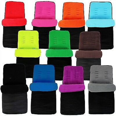 Universal Footmuff Wool For BOB Cosy Toes Buggy Pushchair Pram Liner New!