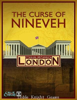 C7 Call of Cthulhu Cthulhu Britannica - London, The Curse of Nineveh HC MINT