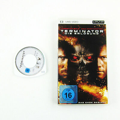 PSP UMD VIDEO : TERMINATOR - DIE ERLÖSUNG in OVP - Playstation Portable Film