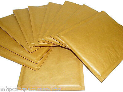 Sealed Air Mail Lite Gold Padded Envelope Bubble Lined bag Various Sizes