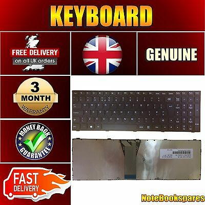 For New Lenovo G70-80 Replacement Laptop English Keyboard UK Layout Black Color