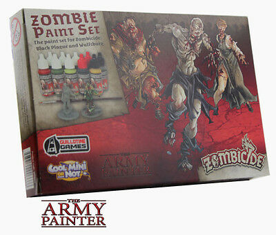 The Army Painter Zombicide Black Plague and Wulfsbure Zombie Paint Set