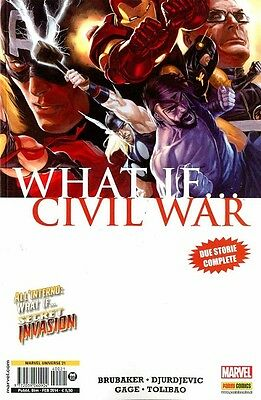 WHAT IF... - CIVIL WAR  - Marvel Universe 21 - Panini Comics