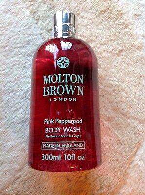 Molton Brown Pink Pepperpod Body Wash New 300ml
