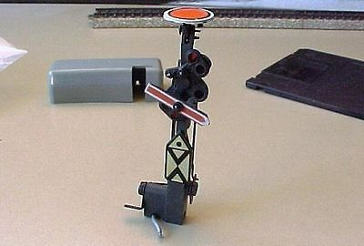dd MARKLIN HO for 7038 : MAST + fittings Distant Signal / Vorsignal-Mast Märklin