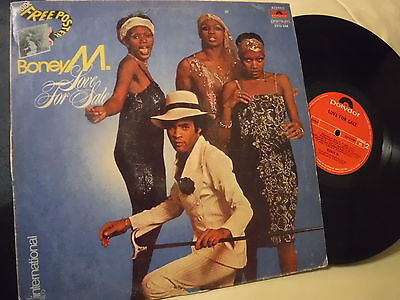 "BONEY M ""Love For Sale"" INDIAN Vinyl LP - Polydor Records 2310 548"