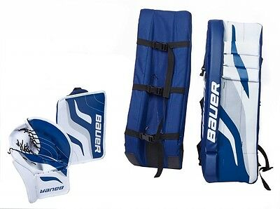 "Bauer- Performance Streethockey Goalie Set 27"", 3tlg. Einsteiger Set. Hockey."
