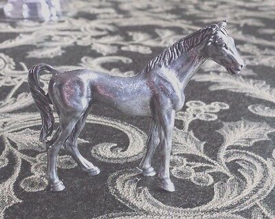 ANIMAL STATUE 1 HORSE THREE DIMENSIONAL PEWTER FIGURINE, STATUE All New.
