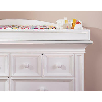 Oxford Baby Harlow Changing Topper - White