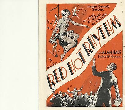 Lot Of 6 Different Original Pressbook Heralds From The 1930's