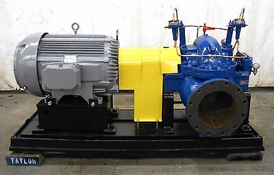 Goulds 3405 Centrifugal Pump 10X12X12 W/ Siemens-Allis 100 Hp Induction Motor