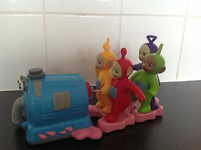 Teletubbies  Vacuum Cleaner Pull String & Go Toy Rare Collectible